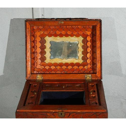 This American, compendium or universal chest, circa 1870 is a one of piece of American folk art. You may gain access to...