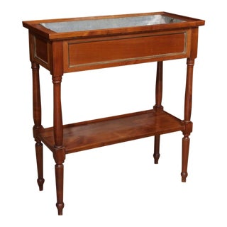 Antique French Provincial Fruitwood Jardiniere For Sale