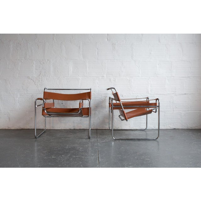 Wassily Marcel Breuer for Knoll Chairs - a Pair - Image 4 of 11