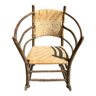 Early 21st Century Old Hickory Rocker For Sale