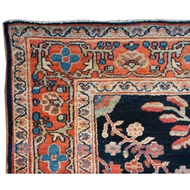 """Early 20th Century Early 20th Century Sarouk Rug - 48"""" x 81"""" For Sale - Image 5 of 6"""