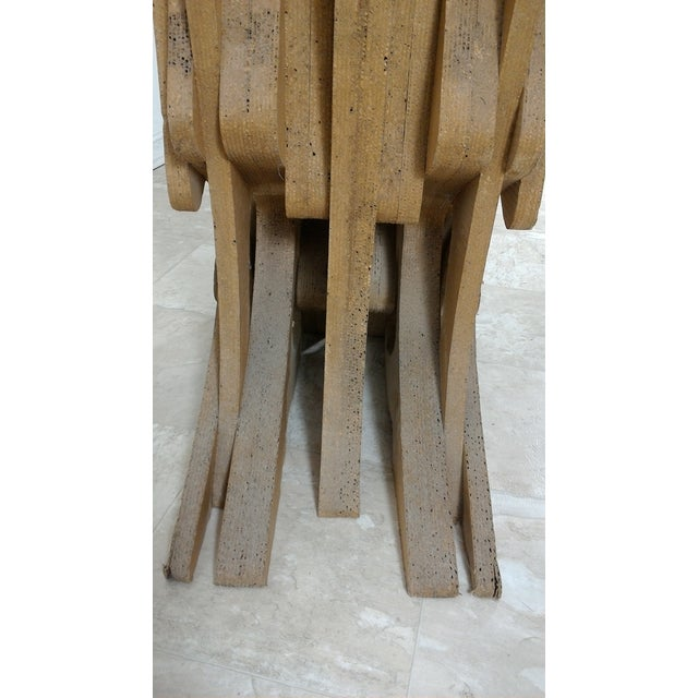 Vintage Cardboard Chair, 1970s For Sale - Image 10 of 11