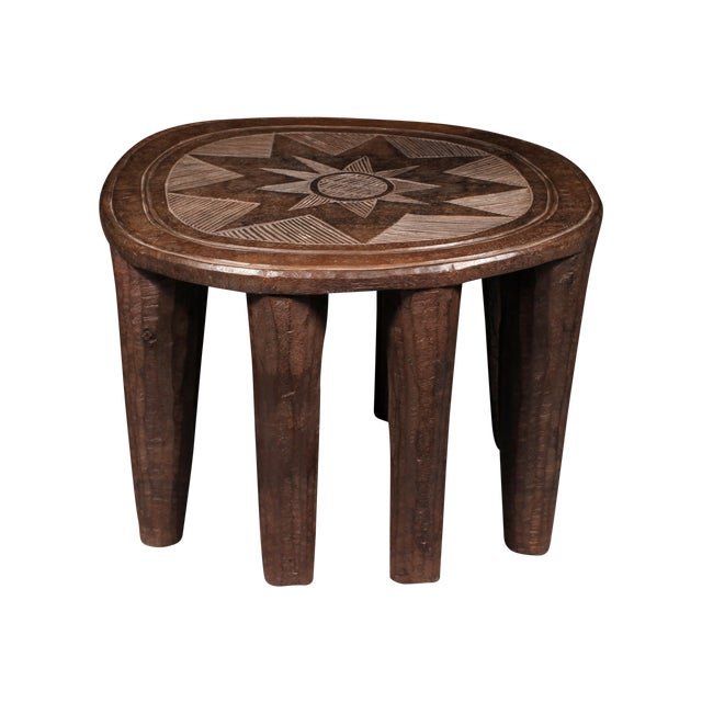 Nupe Tribe African Stool For Sale