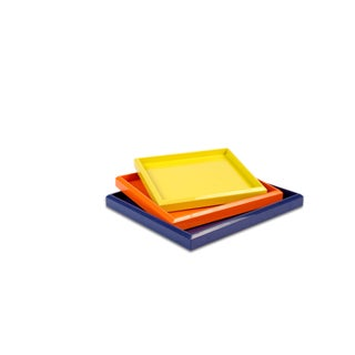 Lacquer Nesting Trays For Sale