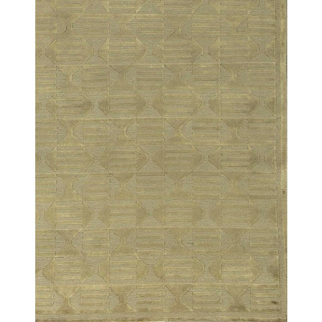Contemporary Contemporary Hand Woven Rug - 5'2 X 7'9 For Sale - Image 3 of 4
