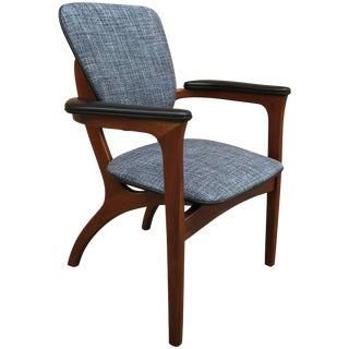 Rare Adrian Pearsall Sculptural Walnut Armchair For Sale