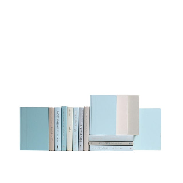 Modern Muted Mix - Fifteen Decorative Books. Fifteen decorative books featuring a collection of modern era books...