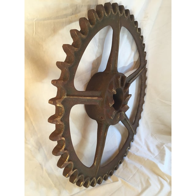 Antique California Gold Country Mining Sprocket - Image 4 of 7
