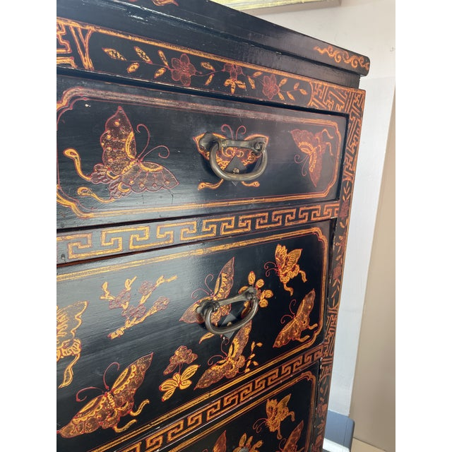 Chinese 1950s Asian Style Chest of Drawers For Sale - Image 3 of 8