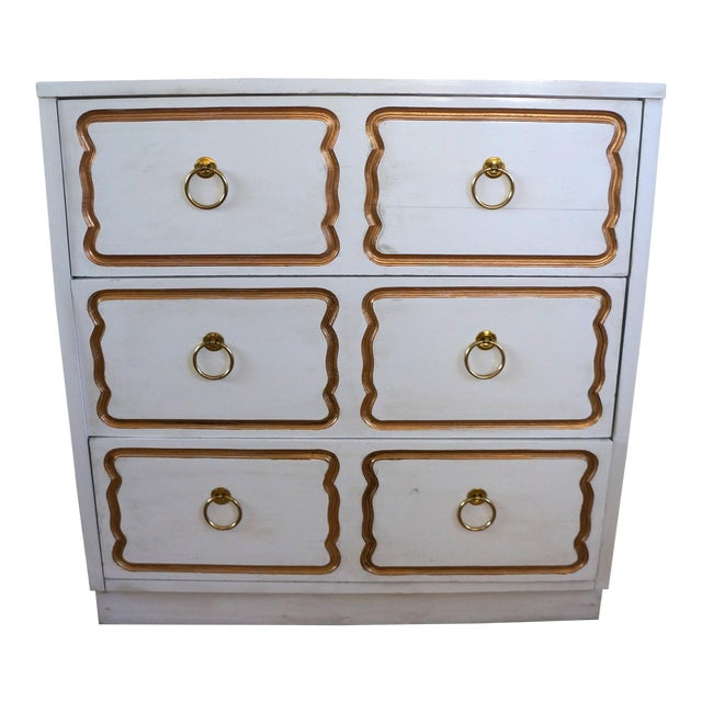 Dorothy Draper Espana Style Chest Dresser For Sale