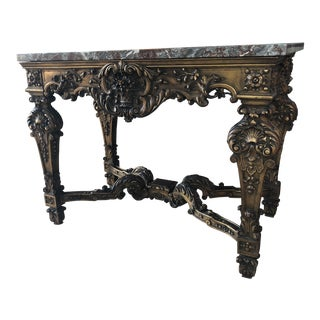 Louis XIV Style Gran Baroque Table For Sale