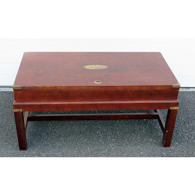 Campaign Style Box on Stand For Sale - Image 10 of 10