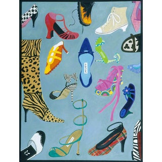 Contemporary Painting for Shoe Lovers For Sale