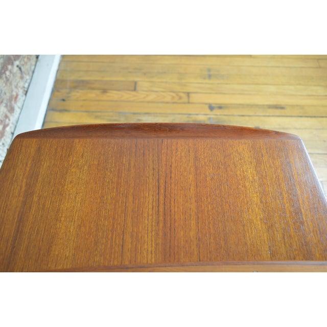 Brown Arne Hovmand Olsen for Mogens Kold Danish Teak End Tables For Sale - Image 8 of 10