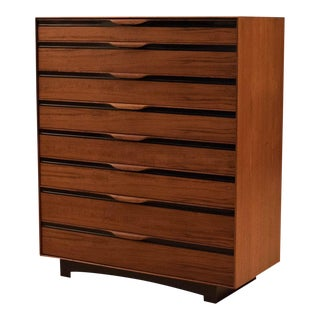 Mid-Century Modern John Kapel for Glenn of California Walnut Dresser For Sale