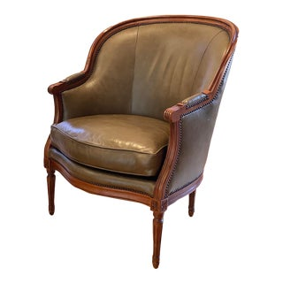 Baker Bergere Side Chair For Sale