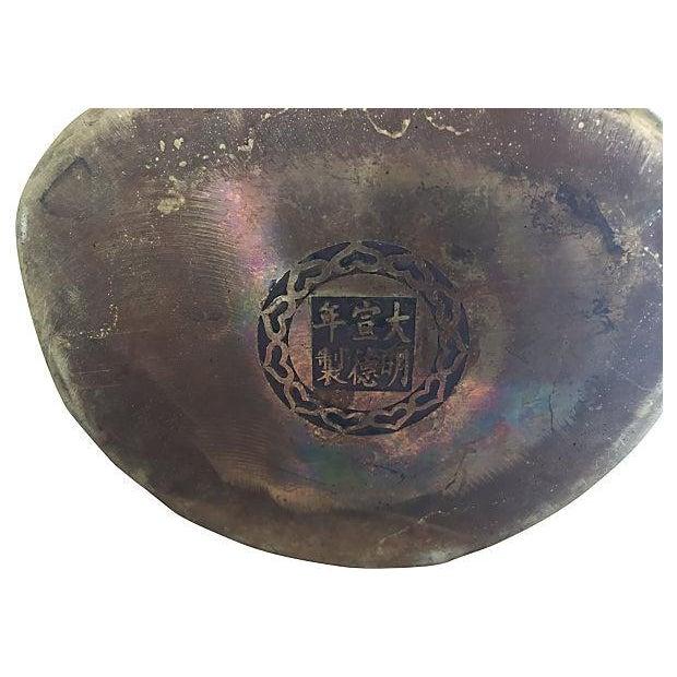 Quan Yin Brass Statue - Image 8 of 8