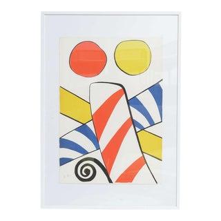 Alexander Calder Artist Proof on Arches Paper