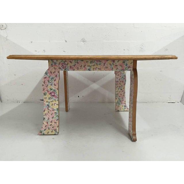 "Robert Venturi Robert Venturi ""Cabriole Leg"" Table for Knoll For Sale - Image 4 of 8"