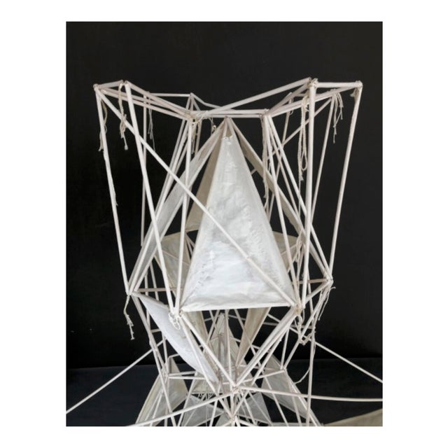 Abstract Kite Sculpture 'Duchess' by Polly Yates For Sale - Image 3 of 6