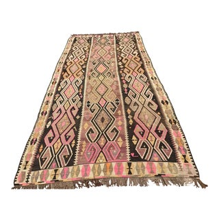 Rustic Turkish Kilim Rug
