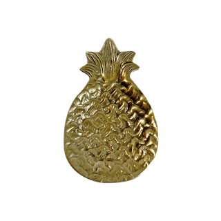 Brass Pineapple Catchall For Sale