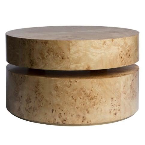 Burled Maple Pivot Coffee Table - Image 3 of 3