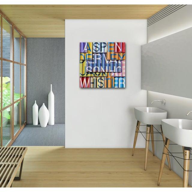 """Ski Season 2018"" Original Artwork by Ross Tamlin For Sale - Image 9 of 11"