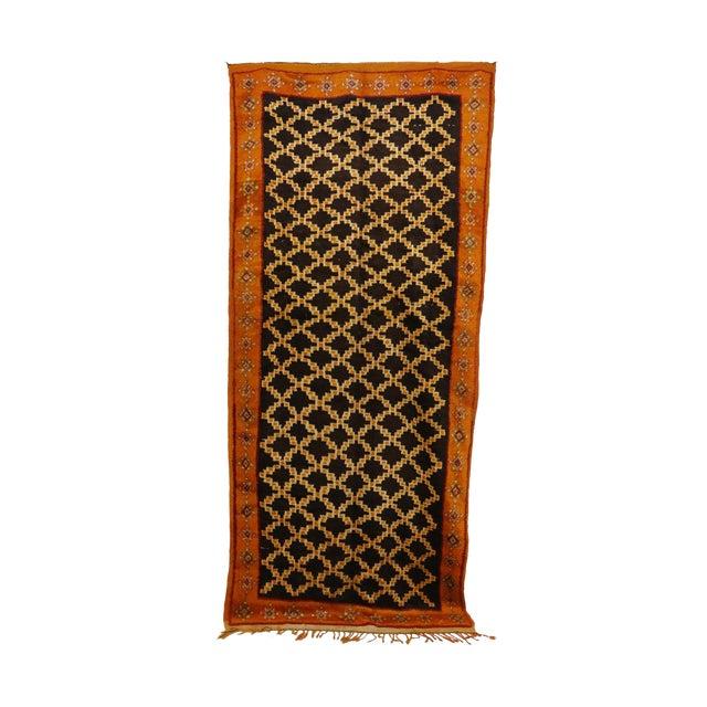"Taznakht Moroccan Rug, 5'0"" X 11'2"" Feet For Sale"