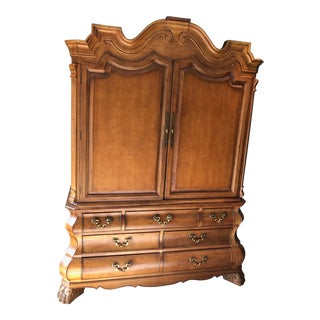 Century Furniture Caspian Collection Armoire For Sale