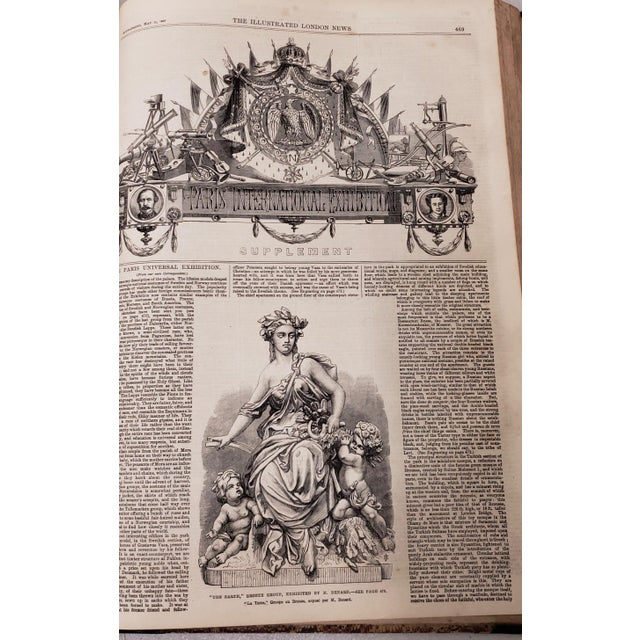 Two Volumes Illustrated London News Books 861 and 1867 - Set of 2 For Sale In San Francisco - Image 6 of 13