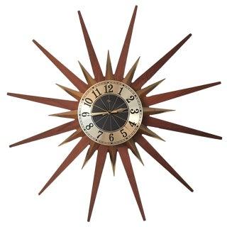 Vintage Elgin Starburst Clock