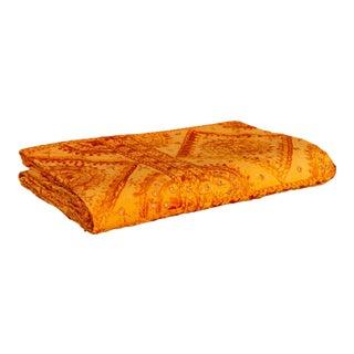 Tangerine Sheesha Coverlet For Sale