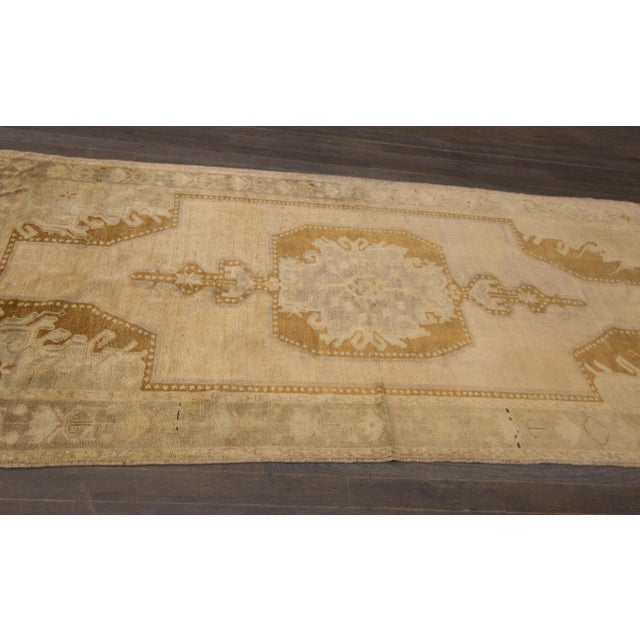 "Traditional Apadana - Vintage Khotan Rug, 8'11"" X 4'6"" For Sale - Image 3 of 4"