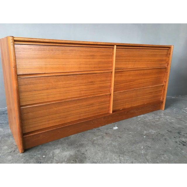 Danish Modern Jesper Teak Danish Modern Dresser For Sale - Image 3 of 7