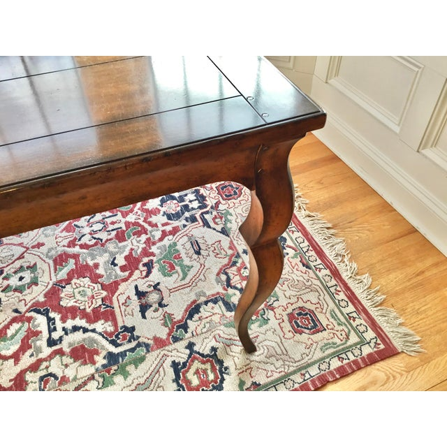 French Country Distressed Dining Table For Sale In New York - Image 6 of 10