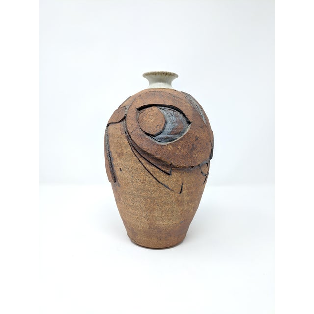 Ceramic Bruce Tomkinson Studio Pottery Vase For Sale - Image 7 of 7