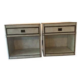 Restoration Hardware Nightstands - A Pair For Sale