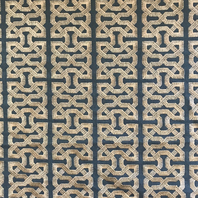 Fabric Kravet Couture Barbara Berry Ceylon Key South Seas Fabric - 12 Yards For Sale - Image 7 of 7