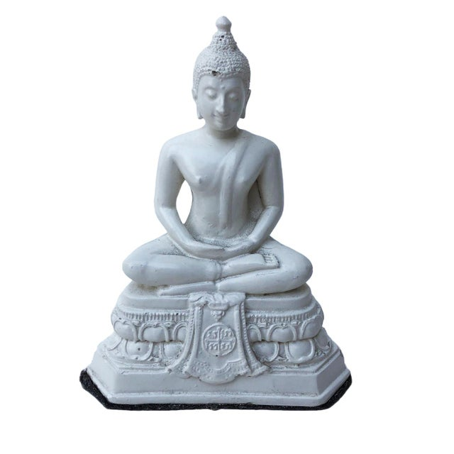 Paint Serene Buddha Figurine For Sale - Image 7 of 7