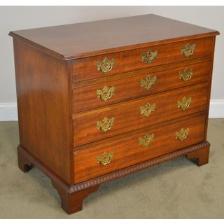 Baker Historic Charleston Collection Mahogany Chippendale Style 4 Drawer Chest Preview