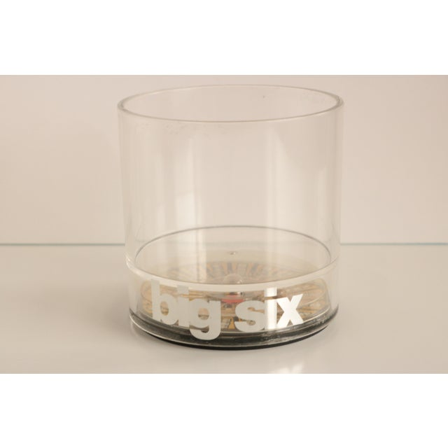 Casino Acrylic Lowball Glasses - Set of 4 For Sale - Image 4 of 9