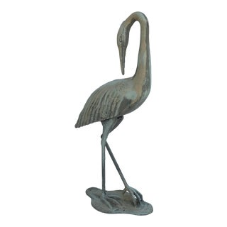 Cast Metal Crane
