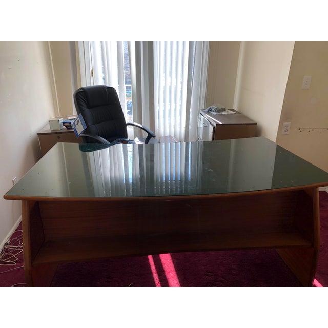 Paolo Buffa Mid Century Italian Made Desk Inspired by Paolo Buffa For Sale - Image 4 of 12