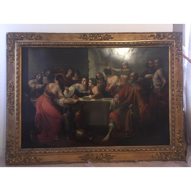 This oil painting with gilt frame has been in our family for decades and due to a recent move we must part with it. The...