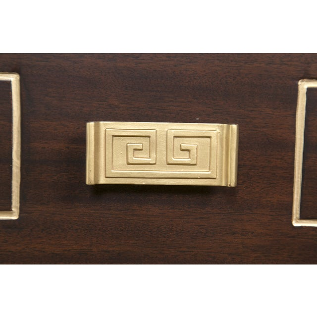 Tommi Parzinger Style Gold Detailed Sideboard - Image 7 of 10