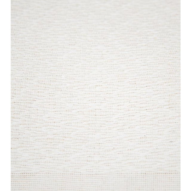 Ivory Handwoven Chiapas Throw - Image 2 of 5