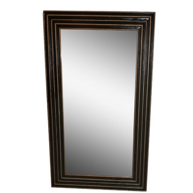 1940s Black & Gold Turner Mirror - Image 1 of 4