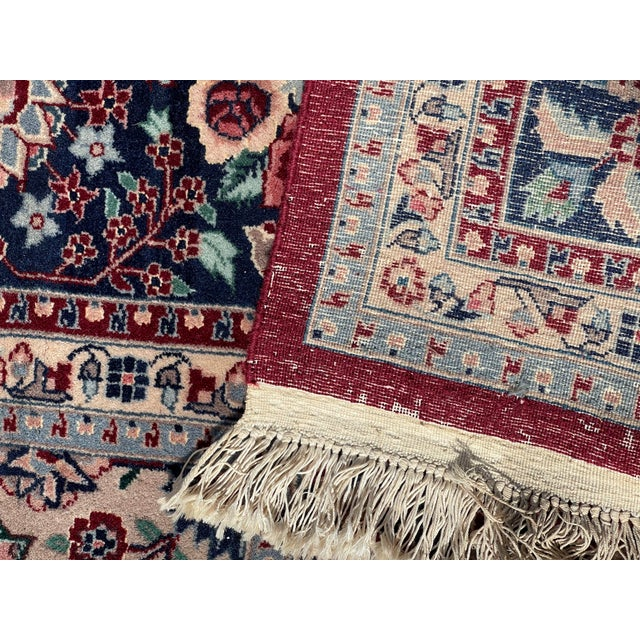 1990s 1990s Huge 12 by 16 Vintage Hand Made Persian Wool Rug For Sale - Image 5 of 8