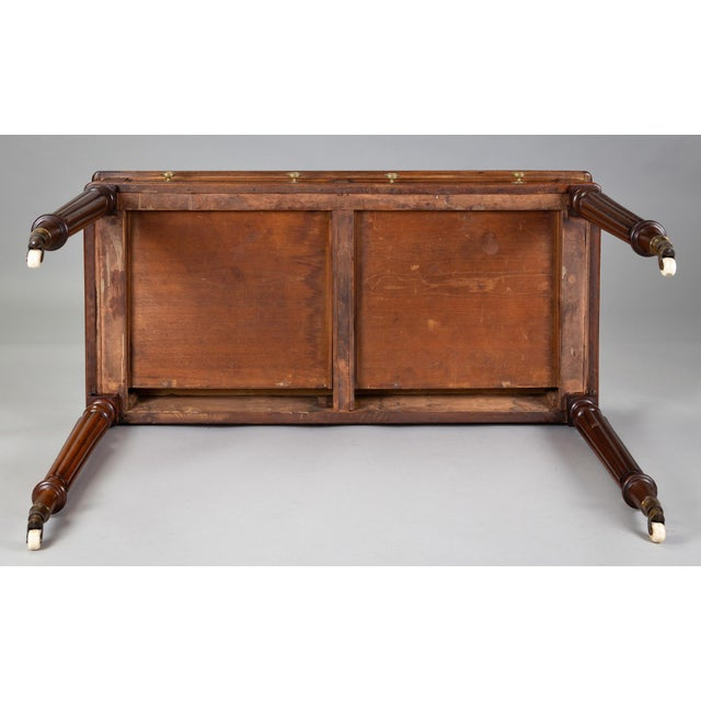 Late Regency Mahogany Small Writing Table, Circa 1830 For Sale - Image 10 of 11
